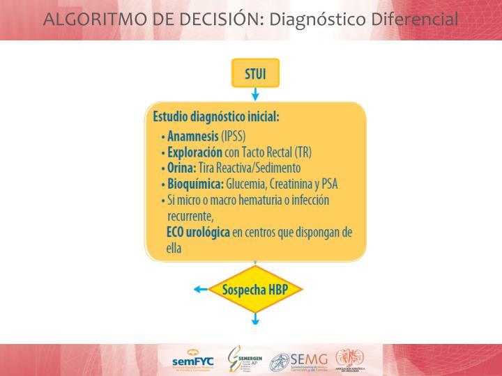 ALGORITMO DE DECISIÓN: Diagnóstico Diferencial