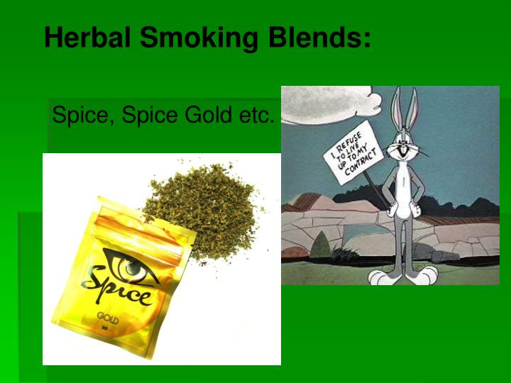 Herbal smoking blends