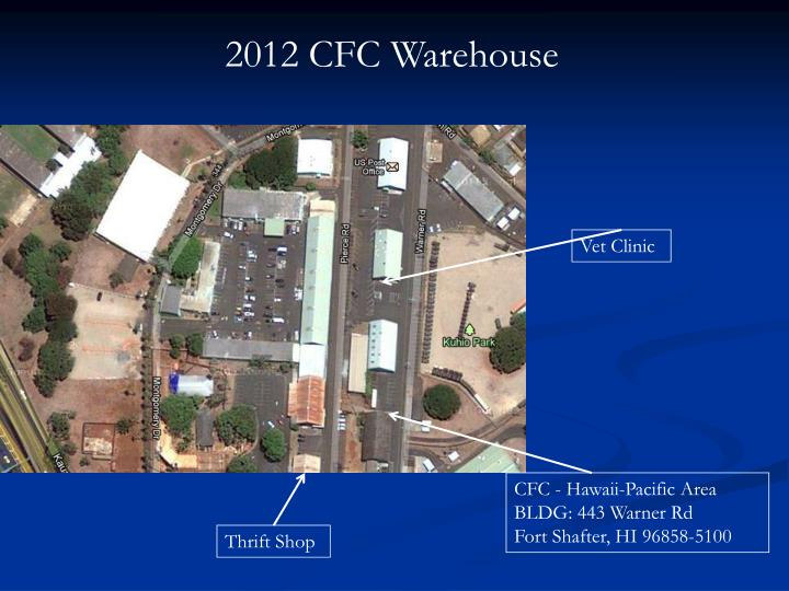 2012 CFC Warehouse