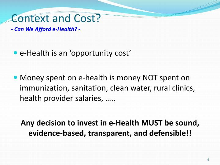 Context and Cost?