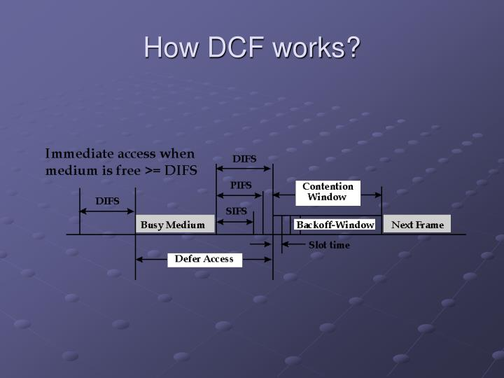 How DCF works?