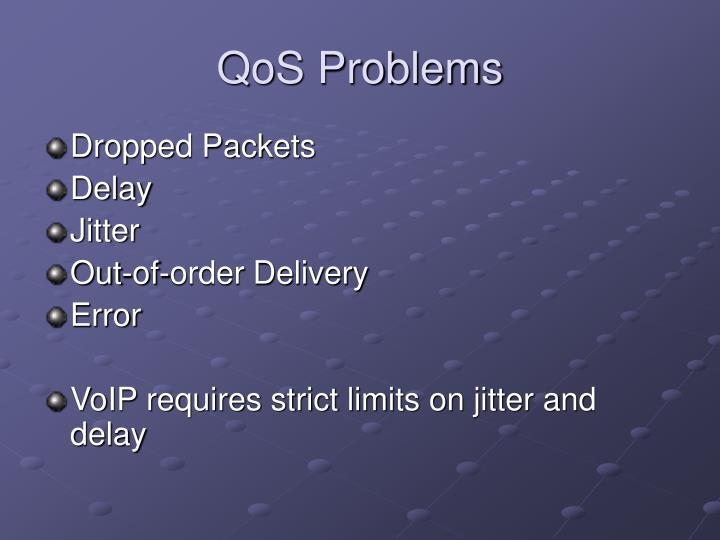 QoS Problems