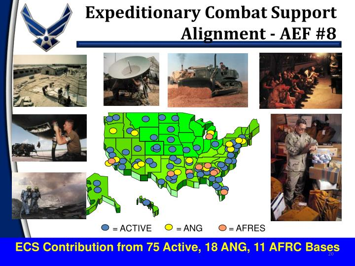 Expeditionary Combat Support Alignment - AEF #8