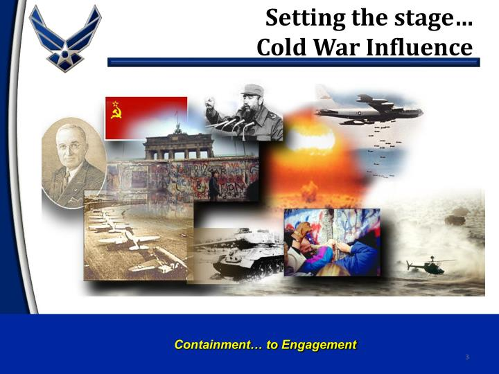 Setting the stage cold war influence