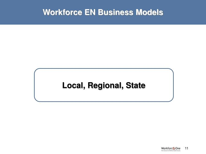 Workforce EN Business Models