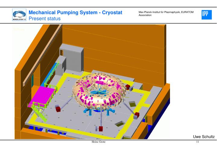 Mechanical Pumping System - Cryostat