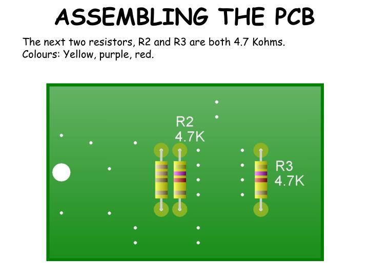 Assembling the pcb2