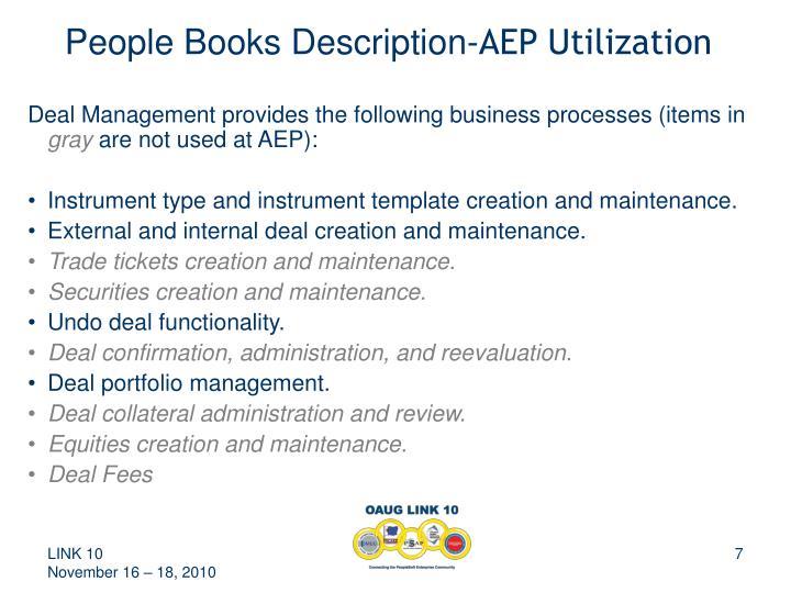 People Books Description-