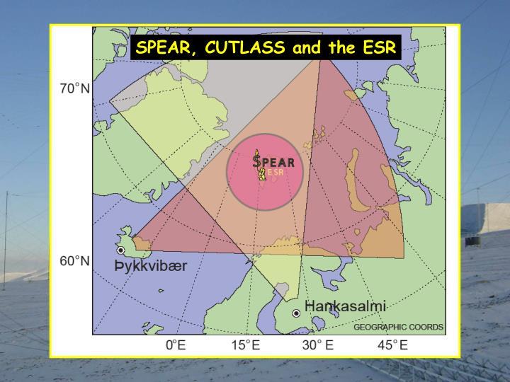 SPEAR, CUTLASS and the ESR