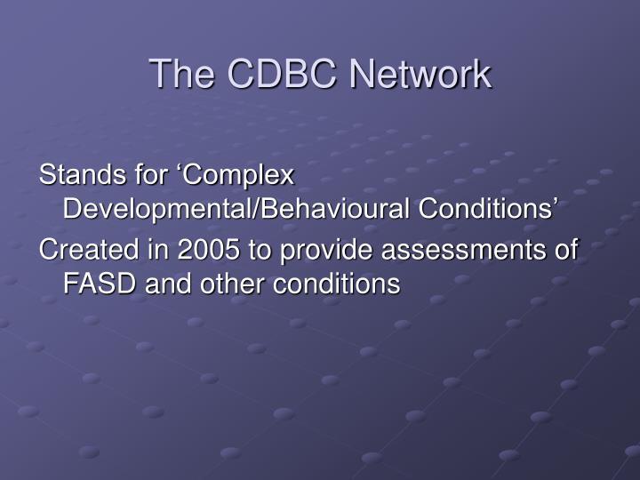 The cdbc network