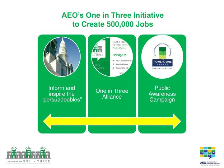 AEO's One in Three Initiative