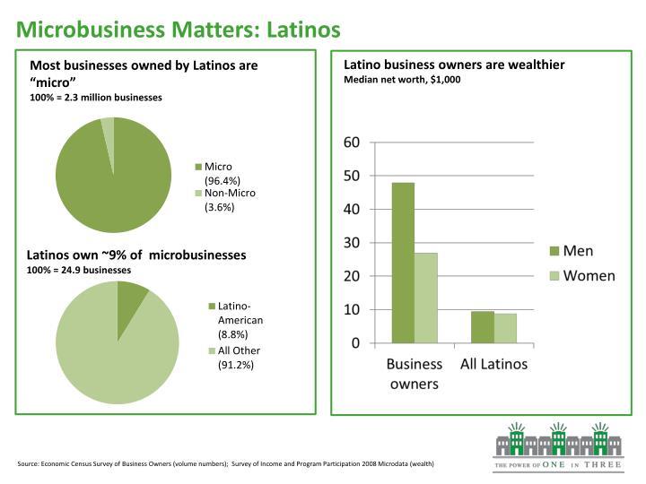 Microbusiness Matters: Latinos