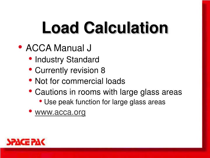 Load Calculation