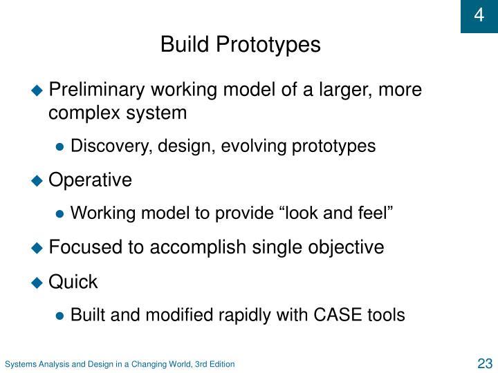 Build Prototypes