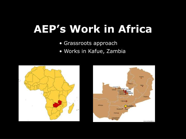AEP's Work in Africa