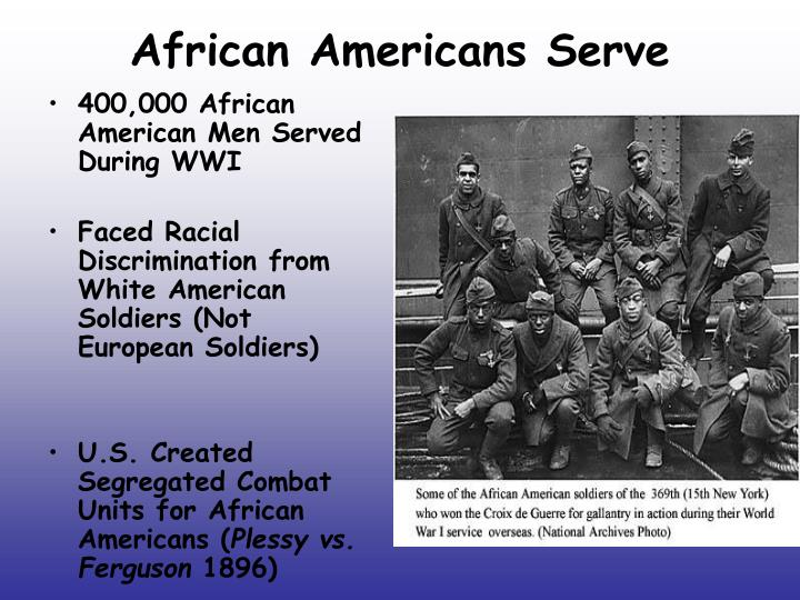 African Americans Serve