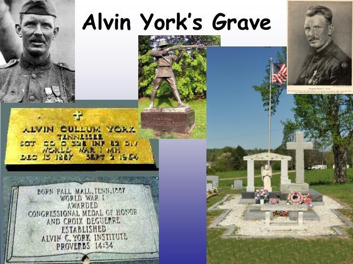 Alvin York's Grave