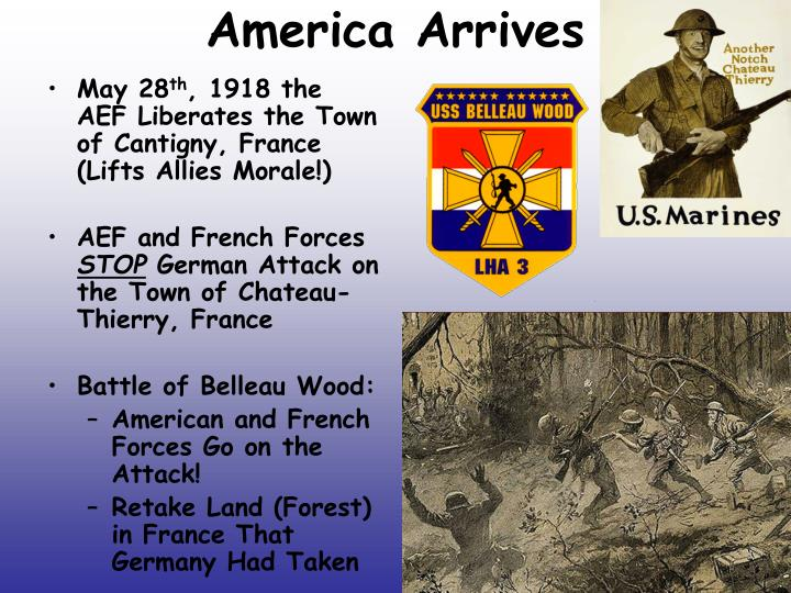 America Arrives