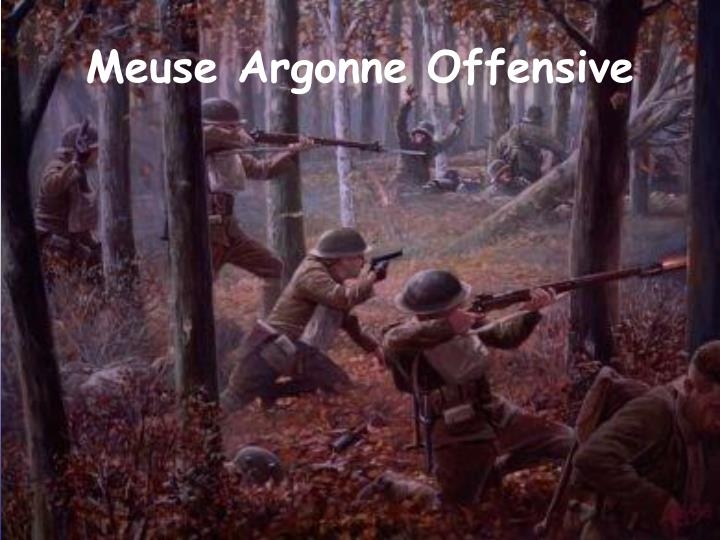 Meuse Argonne Offensive