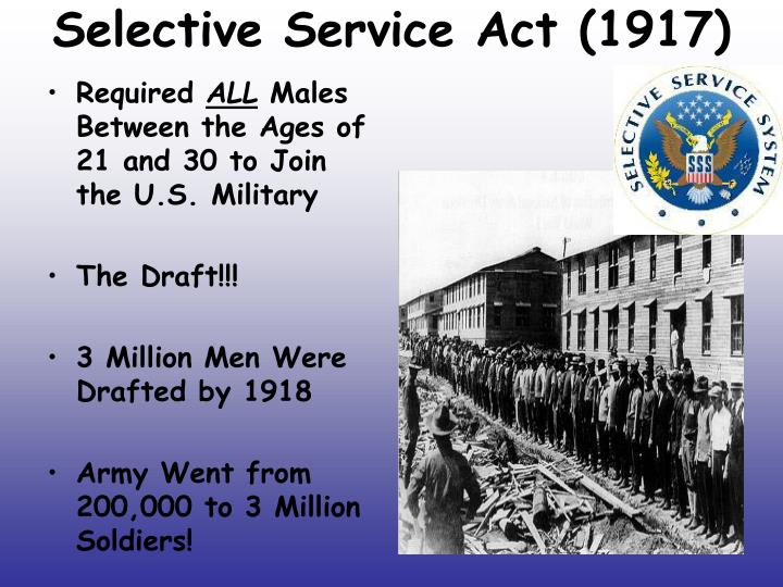 Selective Service Act (1917)