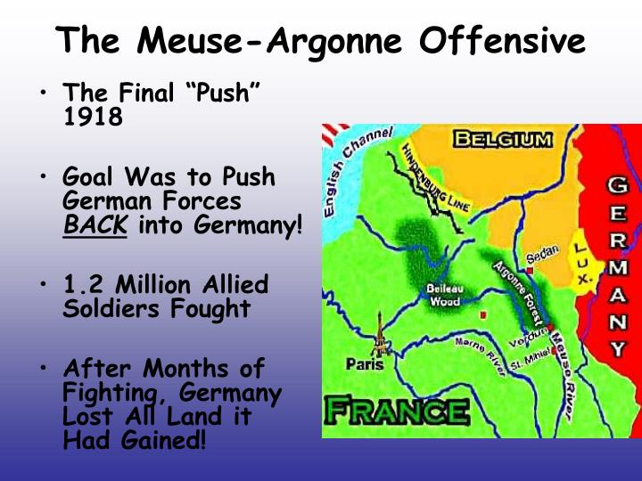 The Meuse-Argonne Offensive