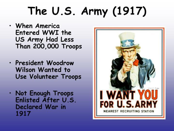 The u s army 1917