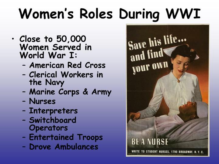 Women's Roles During WWI