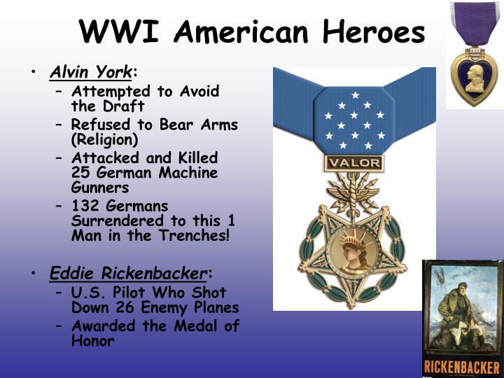 WWI American Heroes