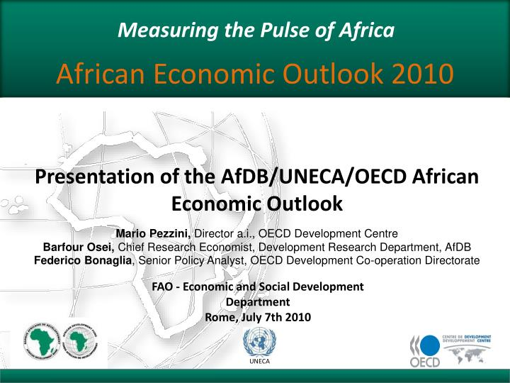 measuring the pulse of africa n.