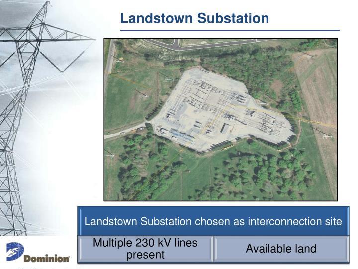 Landstown Substation