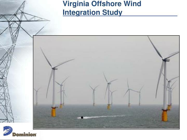 Virginia offshore wind integration study