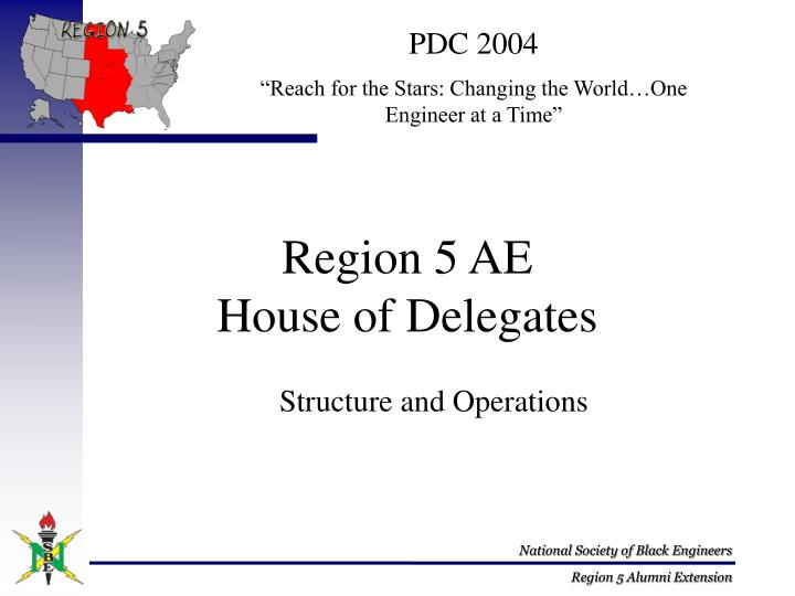 Region 5 ae house of delegates