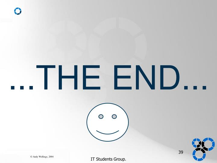 ...THE END...
