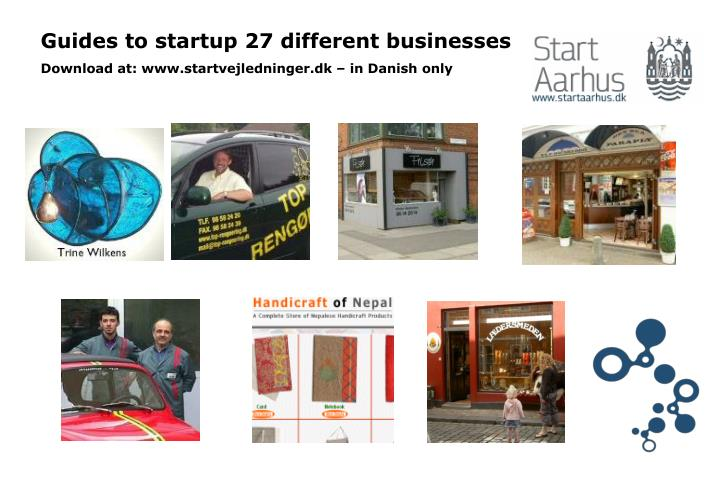 Guides to startup 27 different businesses