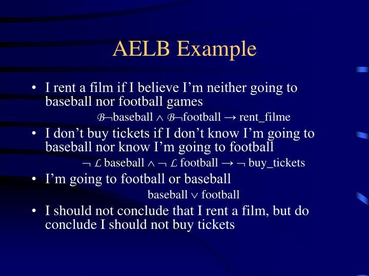 AELB Example
