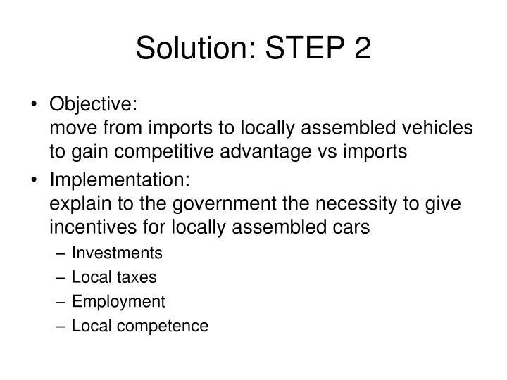 Solution: STEP 2