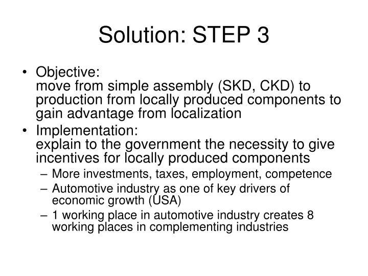 Solution: STEP 3