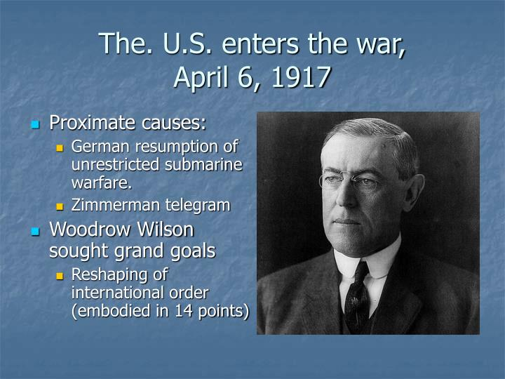 The. U.S. enters the war,
