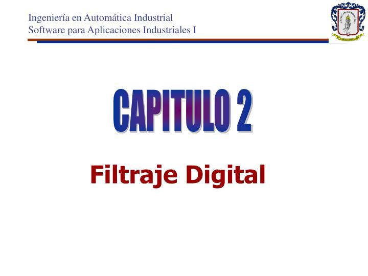 Filtraje digital