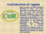 confederation of regions