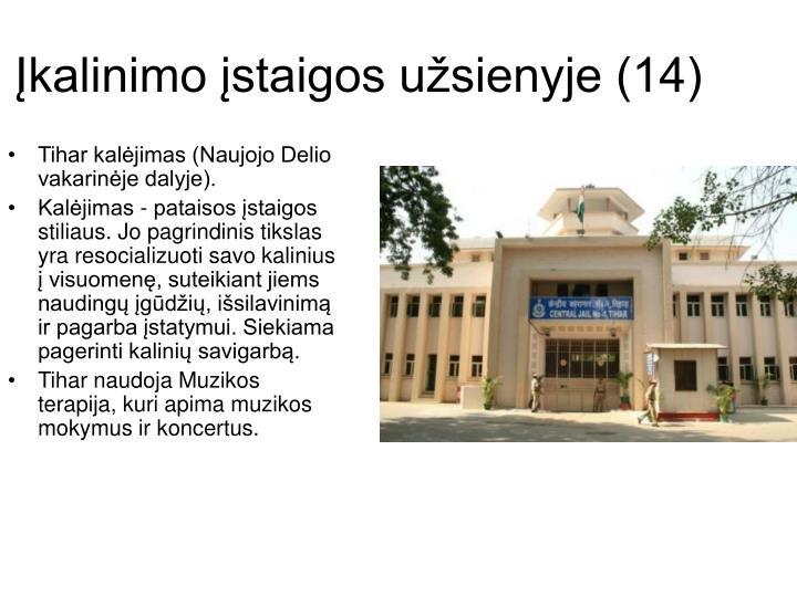 Įkalinimo įstaigos užsienyje (14)