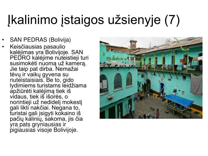Įkalinimo įstaigos užsienyje (7)