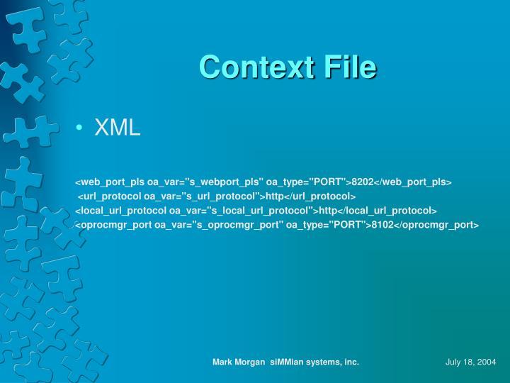 Context File