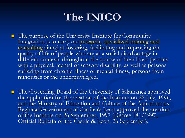The inico