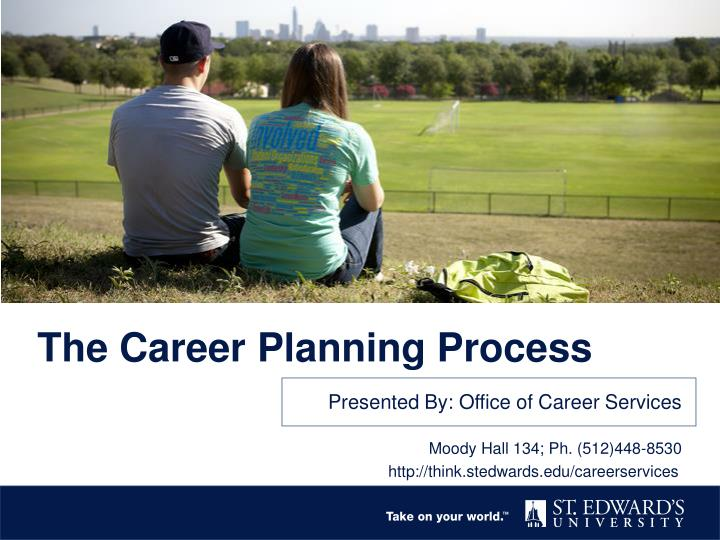 the career planning process n.