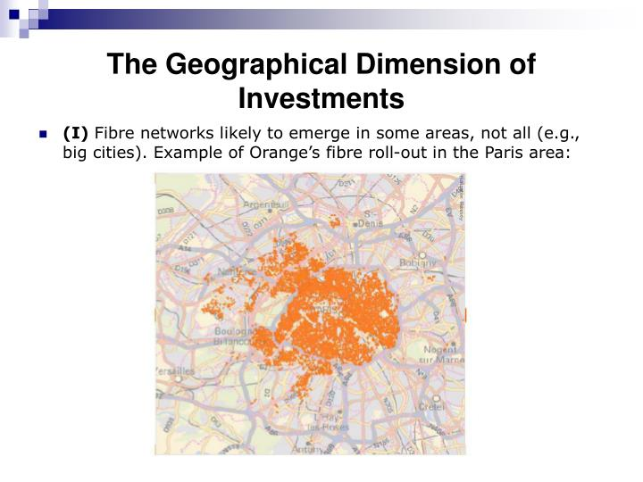 The Geographical Dimension of Investments