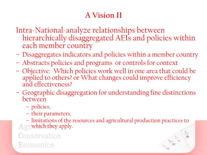 A vision ii