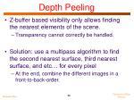 depth peeling2