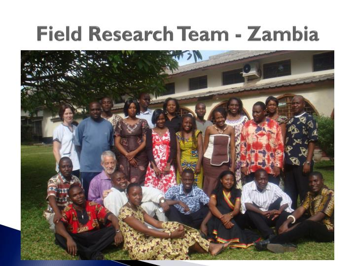 Field Research Team - Zambia