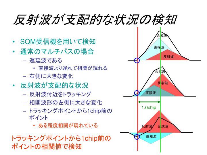 反射波が支配的な状況の検知